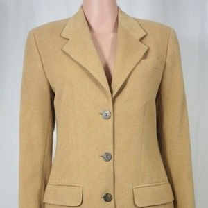 Brooks Brothers 100% Camel Hair Jacket and Skirt